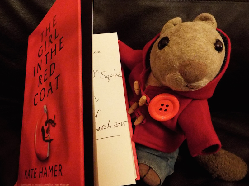 An Evening with Kate Hamer or When the Squirrel in the Red Coat